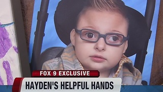 Hayden's Helpful Hands - Video