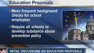 Indiana lawmakers begin discussions on education proposals - Video
