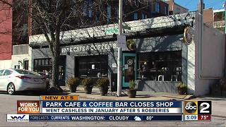 Park Cafe & Coffee Bar closes - Video