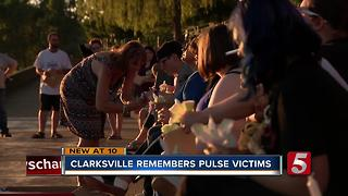 Clarksville Residents Remember Pulse Nightclub Victims - Video
