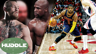 Mayweather vs McGregor; Who Wins? Is Kyrie Irving Better Than Allen Iverson? - Video