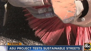 ASU project tests sustainable streets