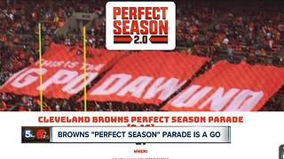 Plans for the Browns Perfect Season Parade move forward, as team ends season winless - Video