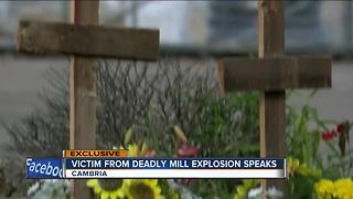 Victim from deadly Wisconsin mill explosion speaks - Video
