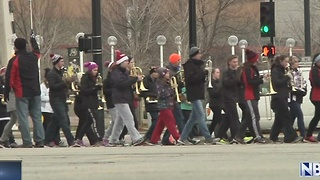 Pulaski Marching Band to Plat at Rose Bowl - Video