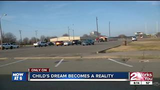 Muskogee PD helps child achieve dream - Video