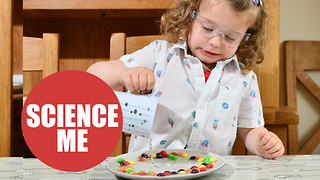 This Three Year Old Scientist Performs Experiments For YouTube - Video