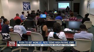St. Pete young adults getting big job opportunities - Video