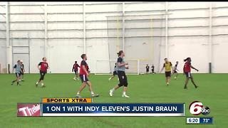 1-on-1 with Indy Eleven's Justin Braun - Video