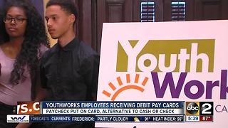 Youth works program gives workers debit cards - Video