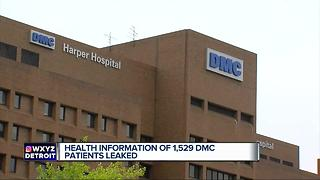 Health info of more than 1K Detroit Medical Center patients compromised - Video