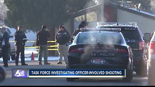 One injured in Boise officer-involved shooting - Video