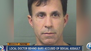 Local doctor behind bars accused of sexual assault