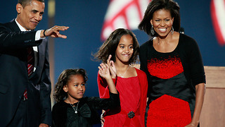 Sasha and Malia Obama over the last 8 years | Rare Politics - Video