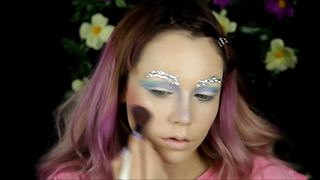How to: Magical fairy inspired makeup tutorial - Video