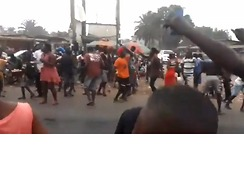 Street Party Held to Celebrate George Weah's Victory in Presidential Election - Video