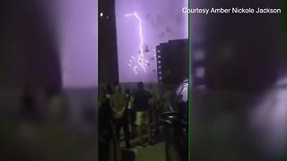 VIDEO: Lightning provides a different type of fireworks in Sarasota - Video