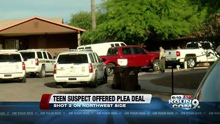 Teen shooter offered plea deal - Video