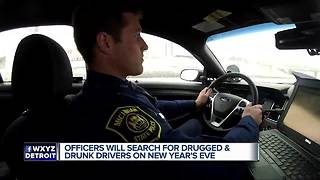 Officers will search for drugged and drunk drivers on New Year's Eve - Video