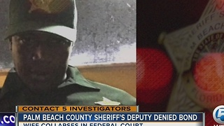 Palm Beach County sheriff's deputy denied bond - Video