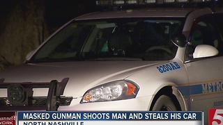 Car Theft Victim Robbed, Shot In Legs - Video