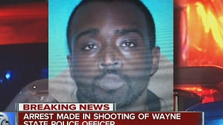 Arrest made in shooting of Wayne State University officer - Video