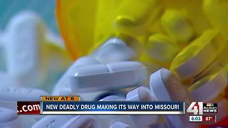 New drug added to opioid epidemic found in MO - Video