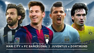 #UCL PREVIEW: MAN CITY v BARCELONA, JUVENTUS v DORTMUND | #FDW - Video