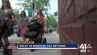 Some Missourians still waiting on tax refunds - Video