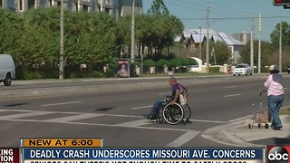 Residents call for changes to 'dangerous' intersection after deadly pedestrian, truck accident - Video