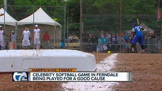 Celebrity Softball Game - Video