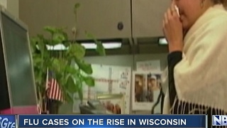 Flu cases on the rise - Video