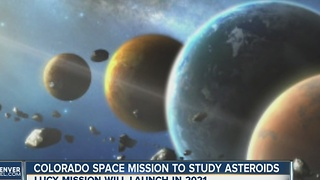 Colorado space mission to study asteroids - Video