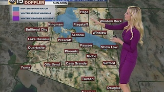 Arizona web weather: 11-25-16 - Video