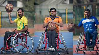 Wheelchair Basketball Team Gives Hope To Paralyzed Men - Video