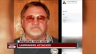 Who was the man who shot at lawmakers? - Video