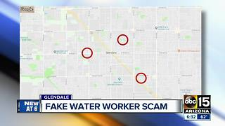 Police searching for fake water workers asking to enter homes - Video