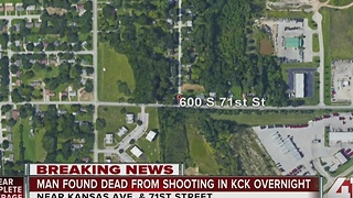 Police: Man shot to death outside apartment complex in KCK - Video