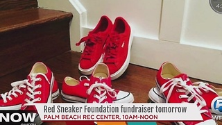 Red Sneaker Foundation fundraiser tomorrow - Video
