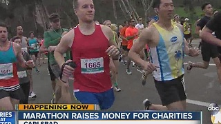Carlsbad marathon raises money for charities - Video
