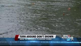 First responders preach 'turn around, don't drown' - Video