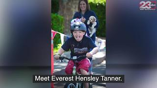 Everest Hensley Tanner is one of 200 people worldwide who have Wiedemann-Steiner Syndrome - Video