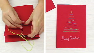 DIY Original Christmas cards - Video