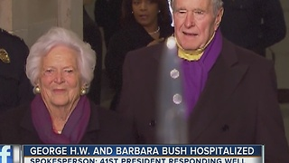 Former President George H.W. Bush sends apology letter to Donald Trump - Video