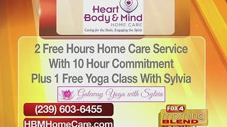 Heart Body & Mind: Yoga Classes 11/23/16 - Video