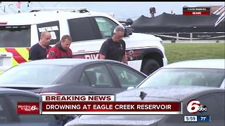 Man dies after being pulled from the Eagle Creek Reservoir - Video
