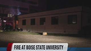 Fire at Boise State - Video