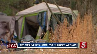 Nashville's Homeless Count May Be Off; Here's What's Being Done About It - Video