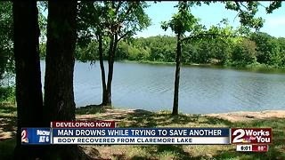 Man drowns while trying to save another - Video