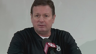 FULL STATEMENT: OU Sooners head coach Bob Stoops talks about Joe Mixon punch, video - Video